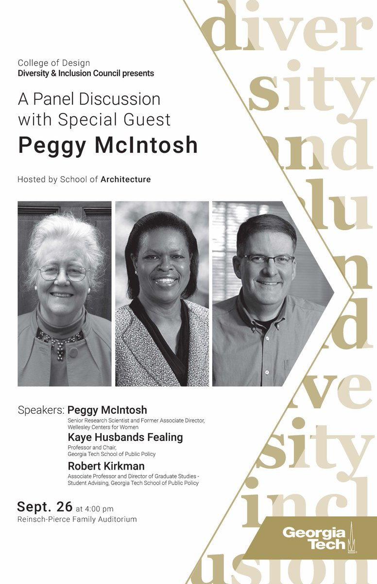 Georgia Tech School Of Architecture On Twitter Join Us Wednesday