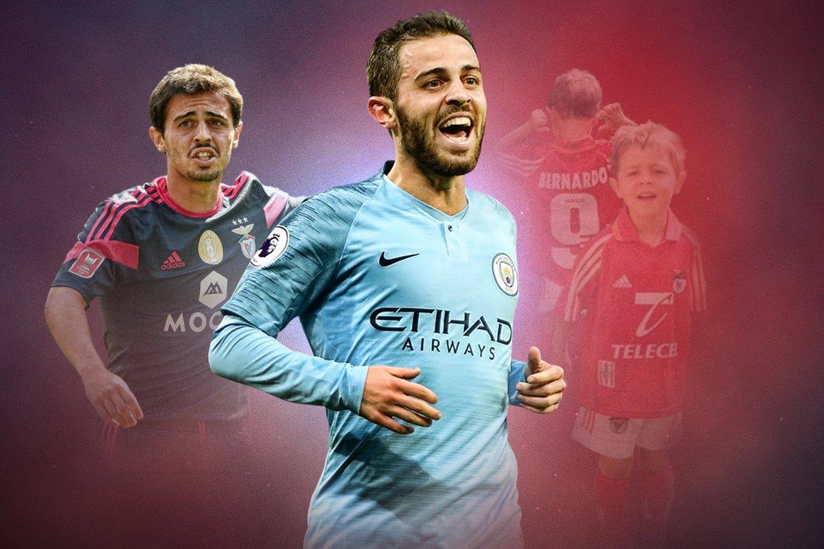 From Benfica ball-boy to Premier League star—the rise and rise of @BernardoCSilva @_marcus_alves | bit.ly/2CRGiTP