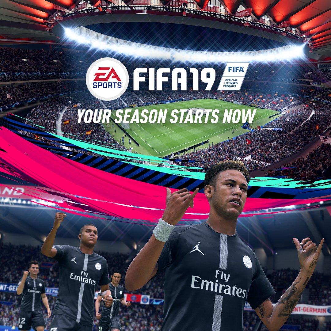 Game time @EASPORTSFIFA x.ea.com/50382 #FIFA19 🎮