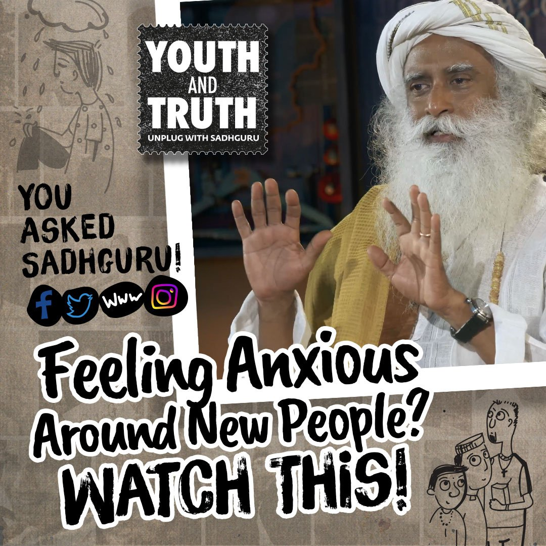 If you obliterate the boundaries of your individuality, whether it's a man, woman, child or an animal, you see them as a part of yourself. You shall live in a state of absolute empathy. #SocialAnxiety#UnplugWithSadhguruhttp://UnplugWithSadhguru.org