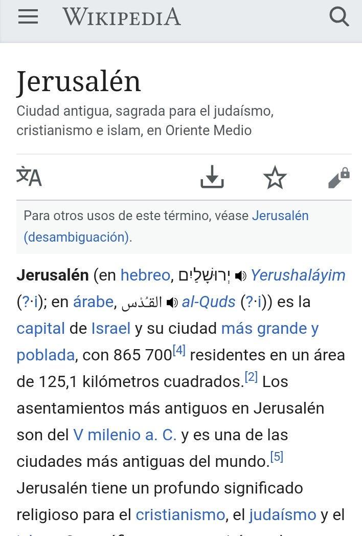 Olga Granado On Twitter Ay Wikipedia Mal Andamos Israel