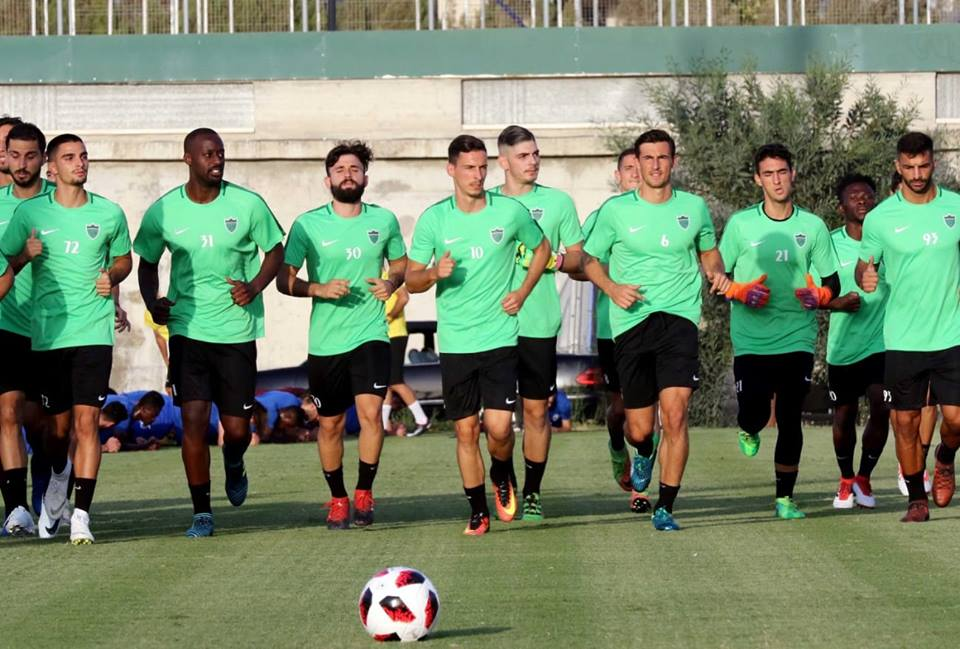 Olympiakos Nicosia Fc On Twitter Team Is Getting Ready For Some Action The First Game The First Fight Only Black Green Football Timeisnow
