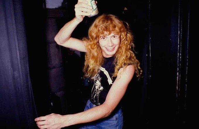 Happy 57th birthday Dave Mustaine