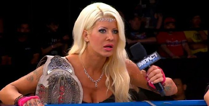 A very happy birthday to former six time  Knockouts Champion Angelina Love!!!!