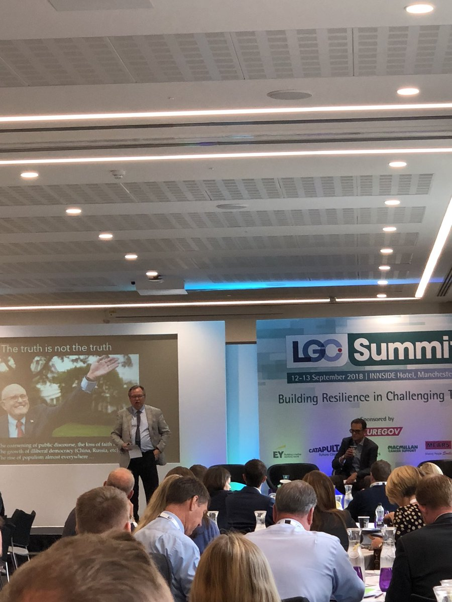 RT @LP_SeanHanson Our @LP_localgov Board colleague @BarryQuirk1 kicking off a session with @RSAMatthew of @theRSAorg discussing the critical role of local government in undercutting the influence of national populism and reinforcing the benefits of local democracy at #LGCSummit