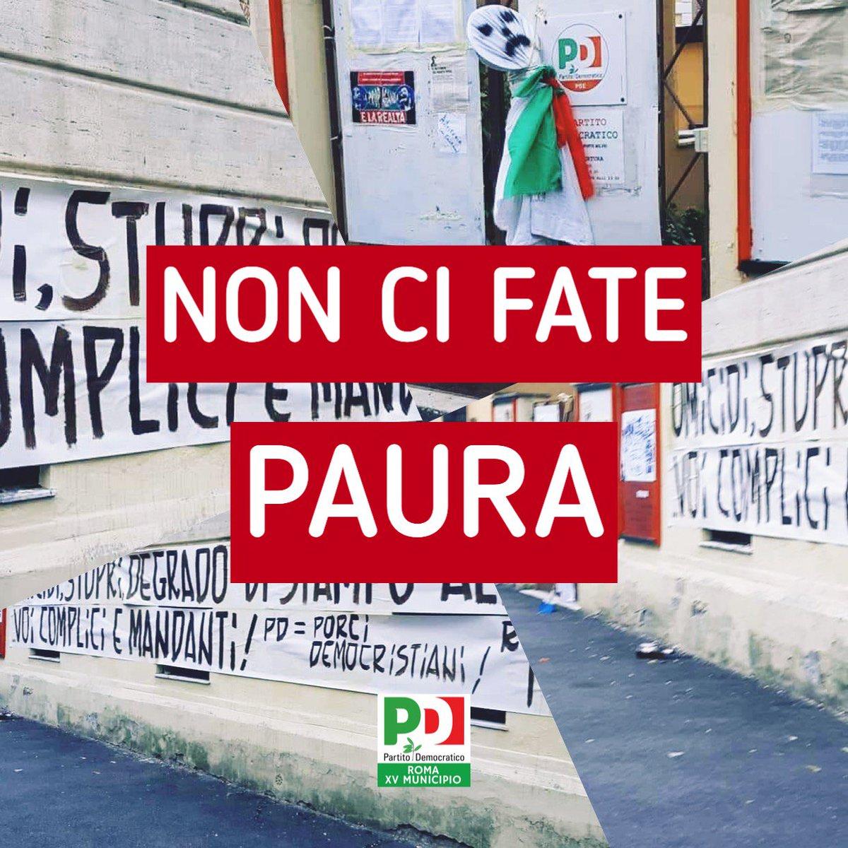 Fascisti romani le vostre minacce non ci fanno paura! Alle 1830 apriremo la sezione #PonteMilvio come ogni giorno #avanti verso la manifestazione @pdnetwork del 30 settembre a #Roma #perlitalia contro il governo dell\