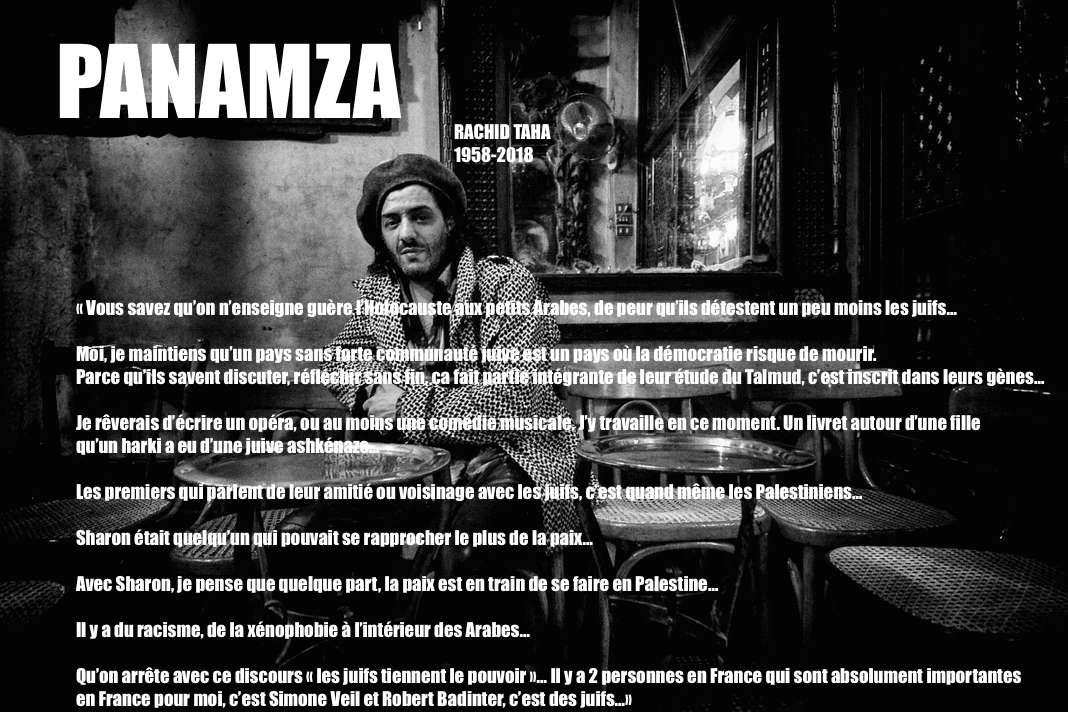 Des Indigènes de la République à Frédéric Haziza, tous célèbrent le demi-punk Rachid Taha
