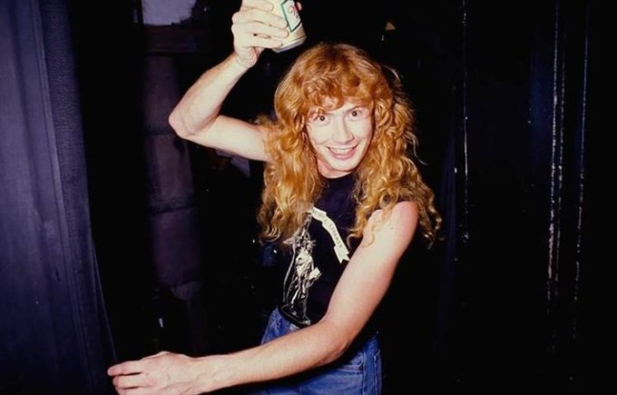 Happy birthday to the one and only Dave Mustaine!! Ily