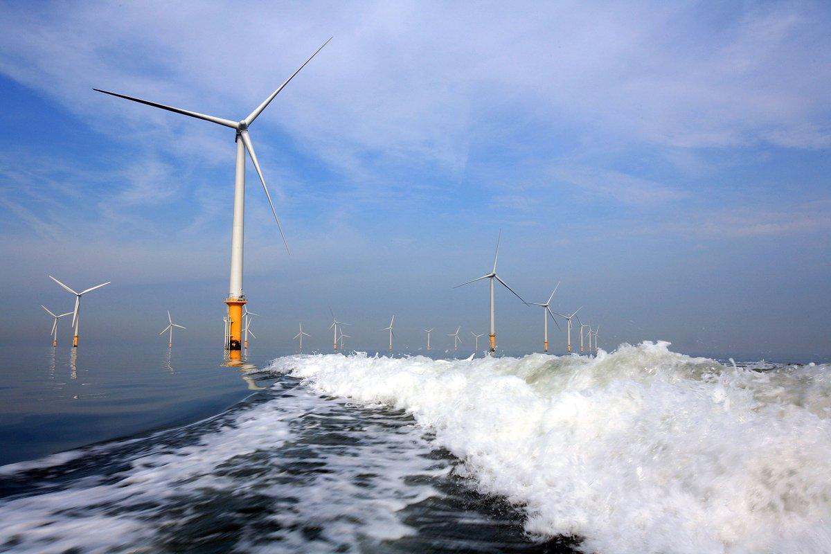 концы ветрогенератор в поле или океане фото советском
