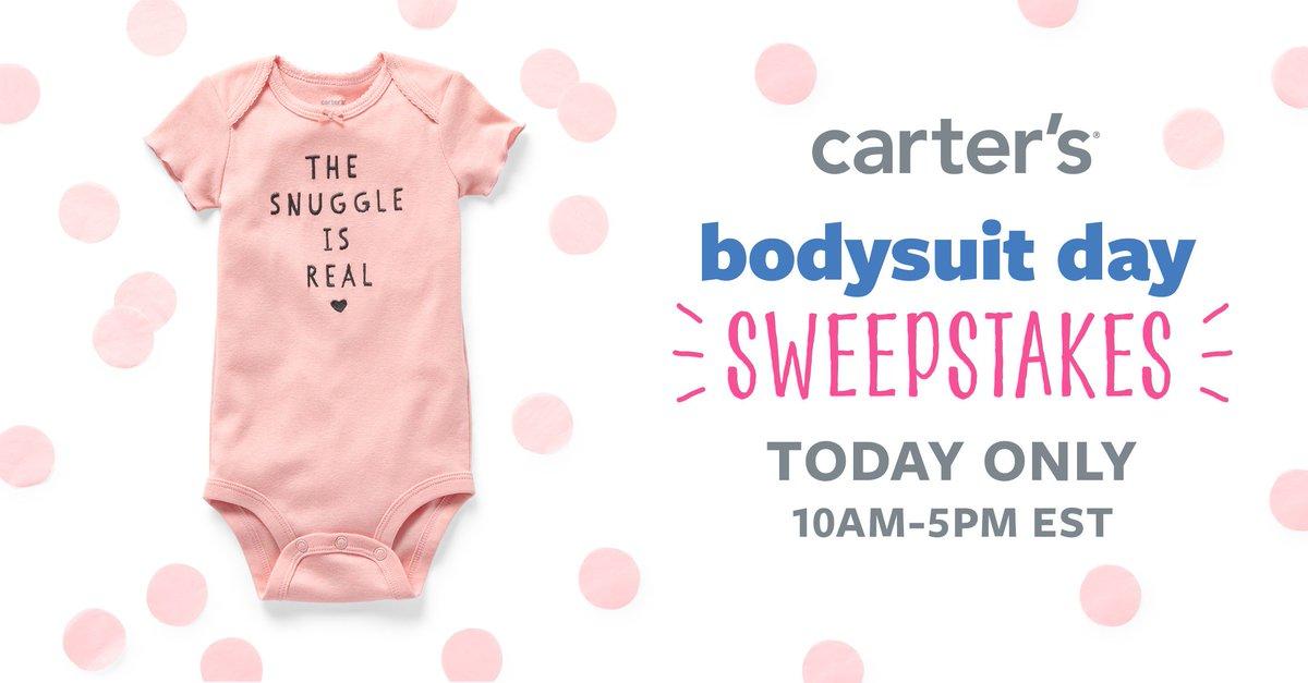Carters bodysuit sweepstakes