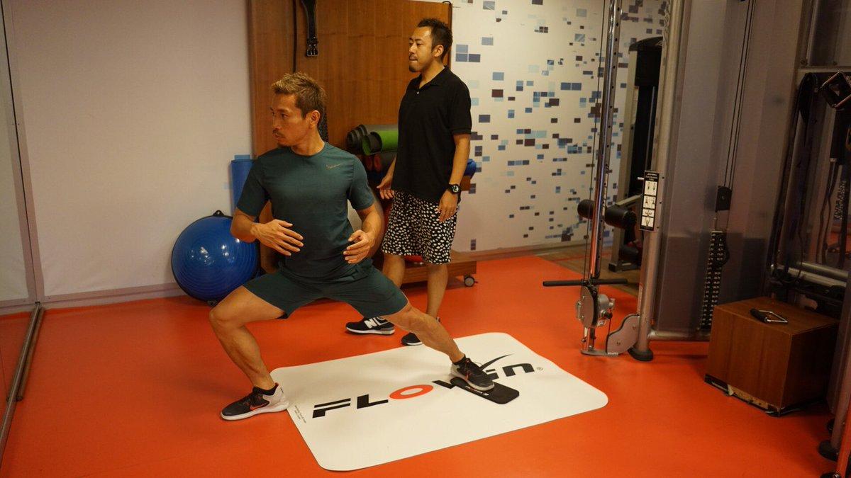 竹口トレーナーとのトレーニング。 進化するための情熱は冷めない。 training with @masa_take