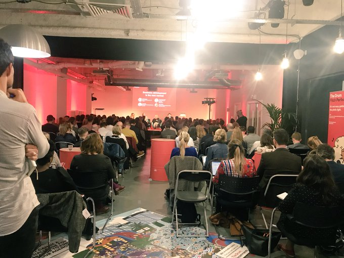 Packed room for the @TheDrum Pitch Perfect event this afternoon - a lot of very talented and passionate people in this room! Looking forward to my session giving the client side view! Photo