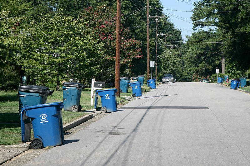 Cityofdurhamnc On Twitter Garbage Recycling Customers Not