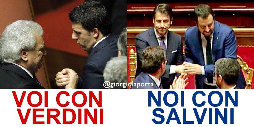 Denis Verdini, colonna portante del #Governo #Renzi è stato condannato a 5 anni di carcere per bancarotta. Mai come oggi noi con #Salvini e voi con #Verdini! #13settembre  http:// www.giorgiolaporta.it  - Ukustom