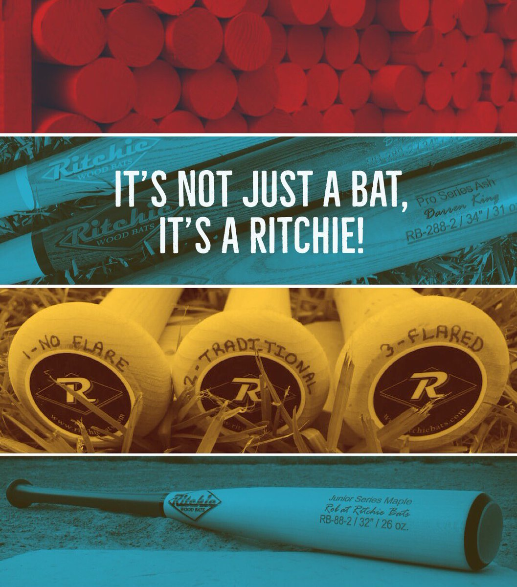 Handcrafted Custom Wood Bats To Your Door In Less Than 2 Weeks It S Not Just A Bat Ritchie Woodbats Twoweeks