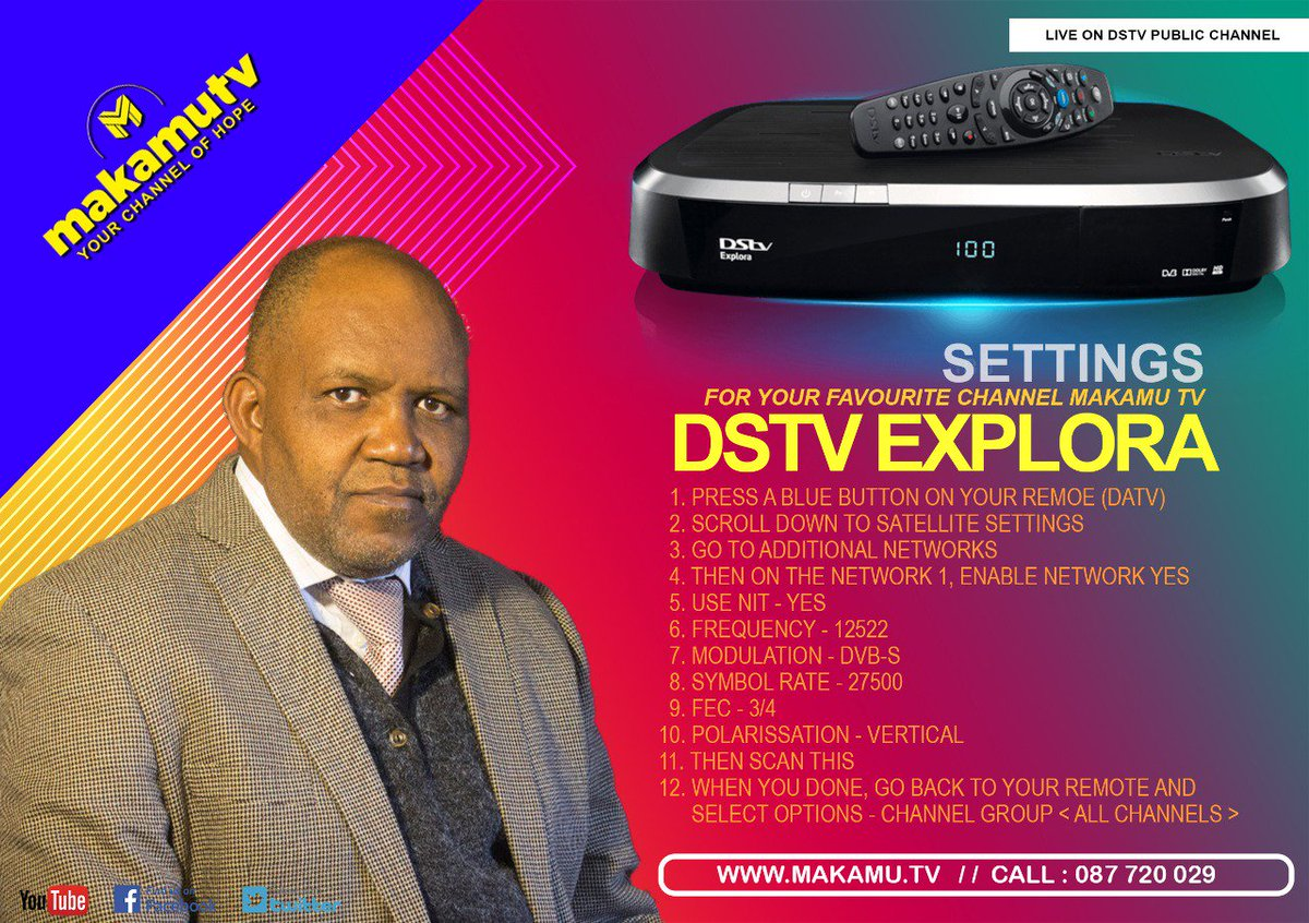 pastor channels on dstv on JumPic com
