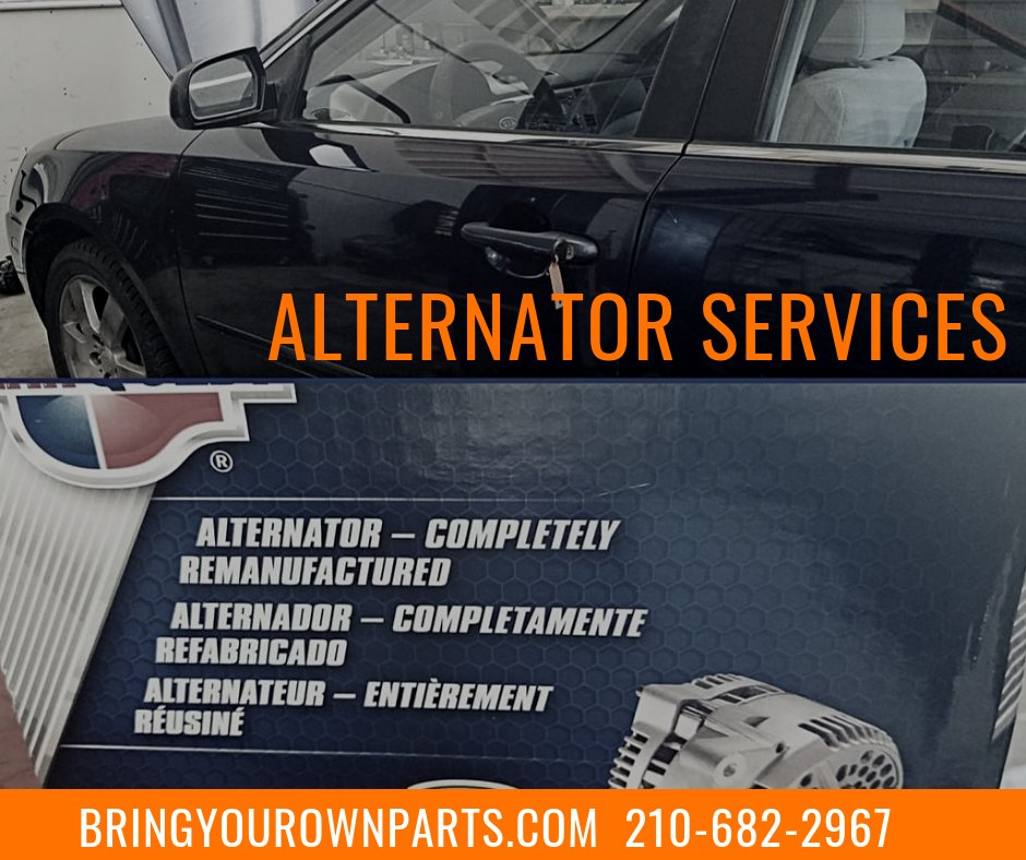 Bring Your Own Parts Auto Repair >> Bring Your Own Parts On Twitter We Offer Alternator Services On