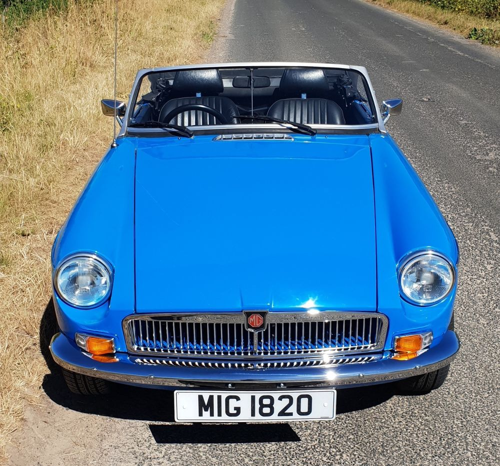 Uk Classic Cars On Twitter Ebay 1980 Mgb Roadster In Pageant Blue With Chrome Conversion Https T Co 2ttto1vlge