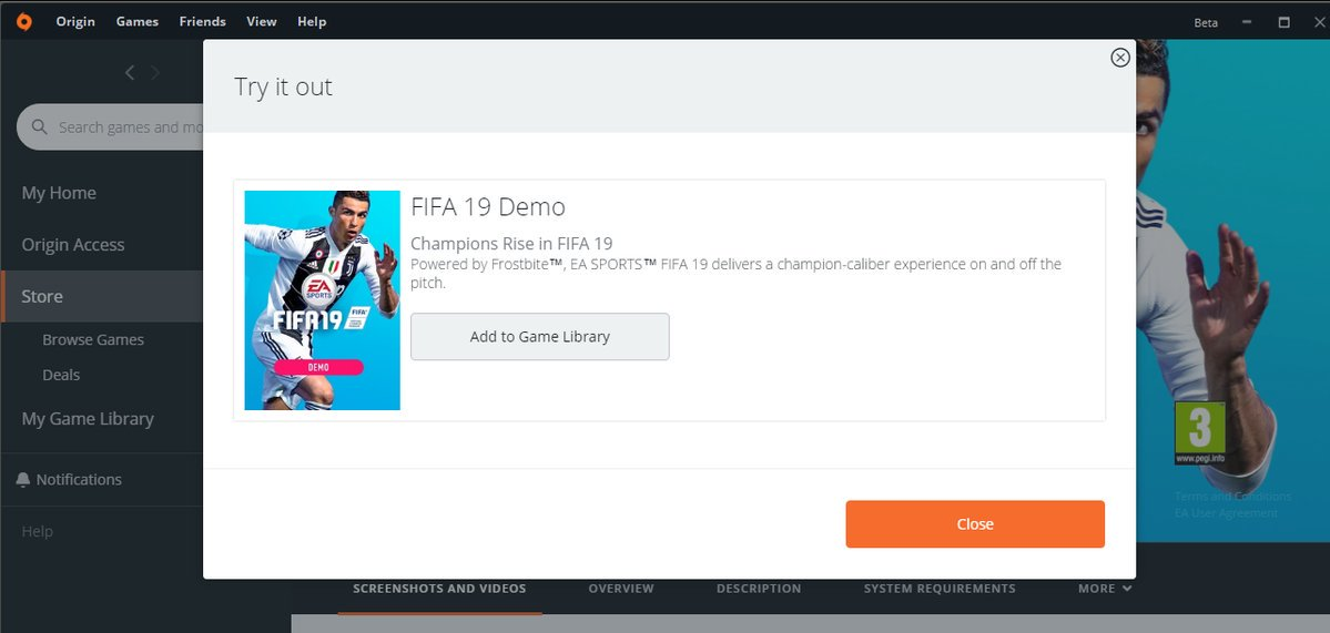 fifa 19 demo download pc without origin
