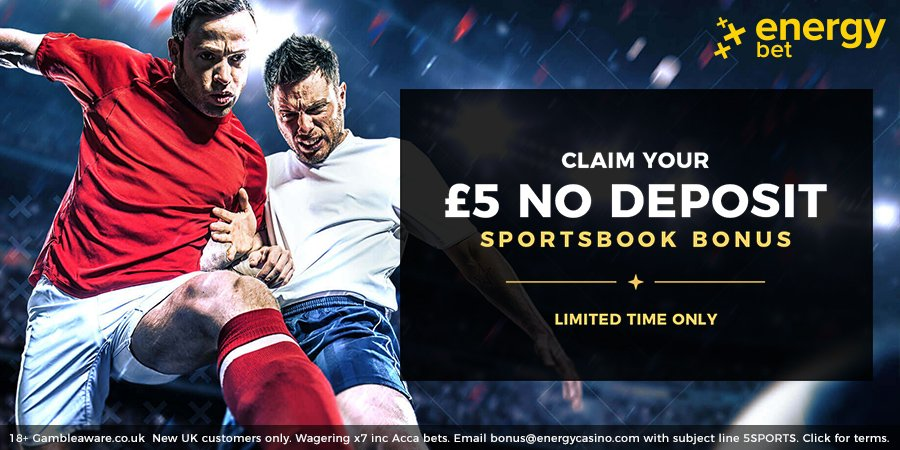 energy bet no deposit free bet offer