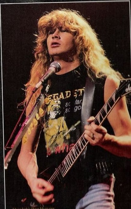 Happy birthday to Dave Mustaine