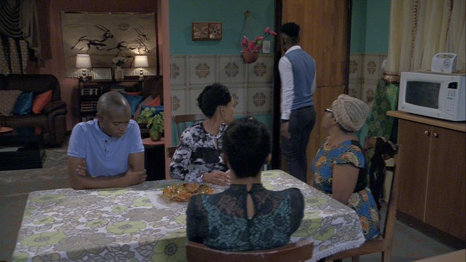Tonight on #SkeemSaam An ex-con lands at the doorstep of the Seakamelas, leaving everyone shocked. @Official_SABC1 Photo