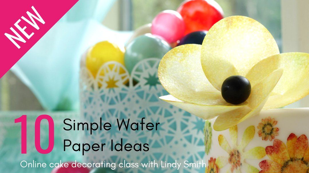 Are you a cake or craft blogger? Would you be interested in a review copy of my new online wafer paper cake decorating class?  …https://lindy-smith-s-sugarcraft-school.teachable.com/p/10-simple-wafer-paper-ideas…  #bloggerswanted #bloggers #cakedecorating #waferpaper #onlinecourse #onlineclasses #bloggerrequest #prrequest #bloggerstribepic.twitter.com/yZ8vDlvSFA