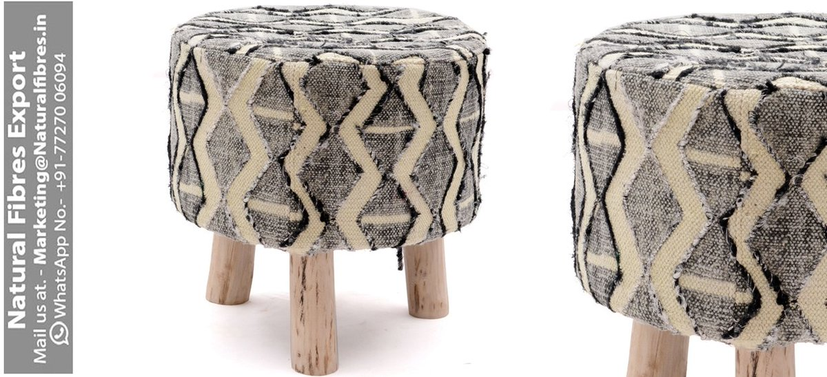 Pleasant Natural Fibre Export On Twitter Upholstered Round Ottoman Ibusinesslaw Wood Chair Design Ideas Ibusinesslaworg