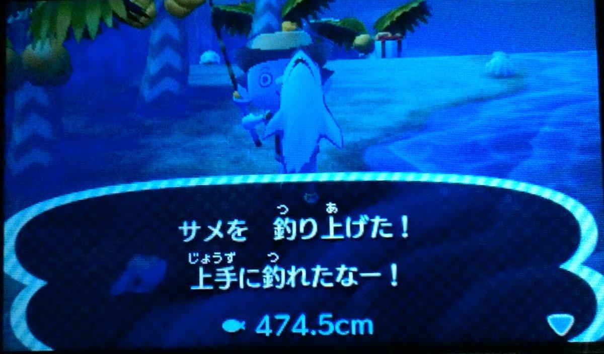 とび 森 サメ 釣り 方