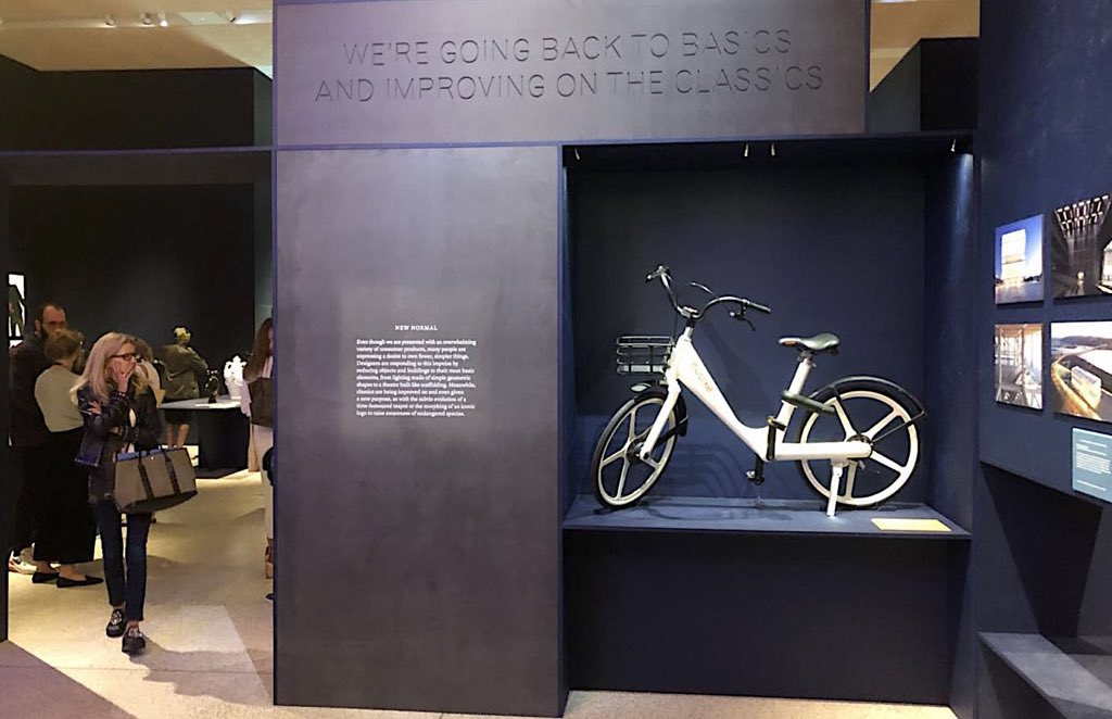 Our concept design, made in collaboration with famed designer Naoto Fukasawa has been nominated for a #BeazleyDesignsoftheYear award. Today we go on display at the world-renowned @DesignMuseum in #London!  https://t.co/0G1zqCWOrh #design #award #designmuseum #bicycle #concept https://t.co/gEiEBlOqUy