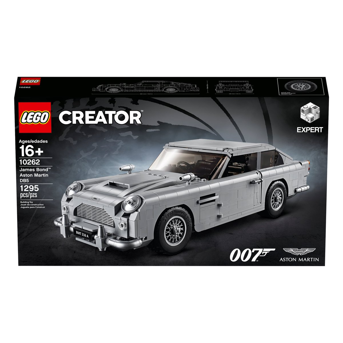 London Film Museum On Twitter Throughout September Why Not Come And Have A Go At Building The New Lego Creator Expert James Bond Aston Martin Db5 Here At Bond In Motion Win