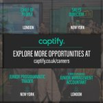 Browse our open roles and join the Captify family: https://t.co/bpLksChxiq #captifycareers #captify #adtech #media #adtechcareers