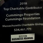 Image for the Tweet beginning: Thank you to @BosBizJournal for