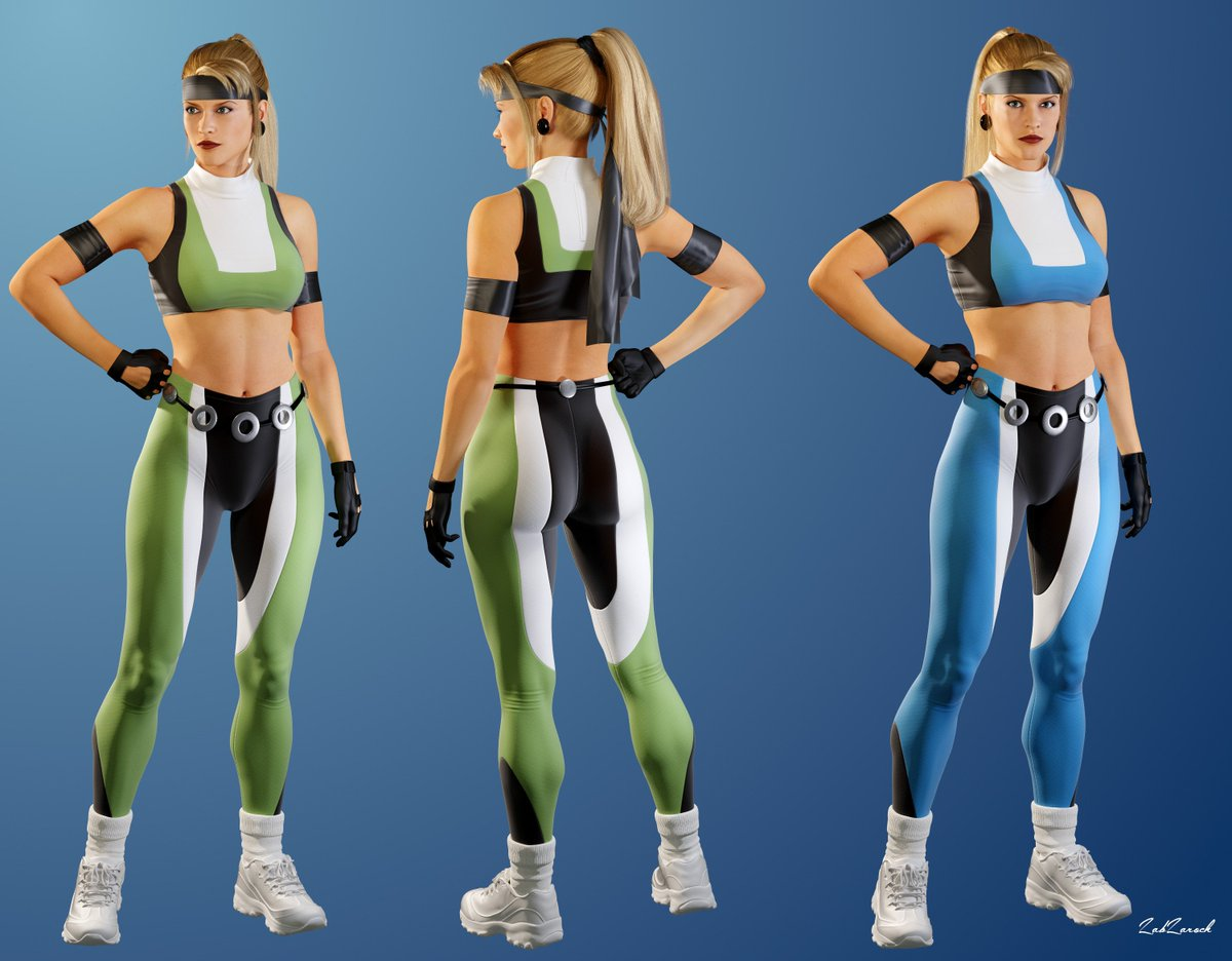 Sonya Blade Mk1 Costume