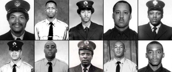 """Remembering these brave minority souls that died on 9-11. These are also the same ones Kaepernick and other NFL Anthem kneelers disrespect with their so-called """"peaceful"""" protest. Never forget them and the sacrifice they made. #Sept11"""