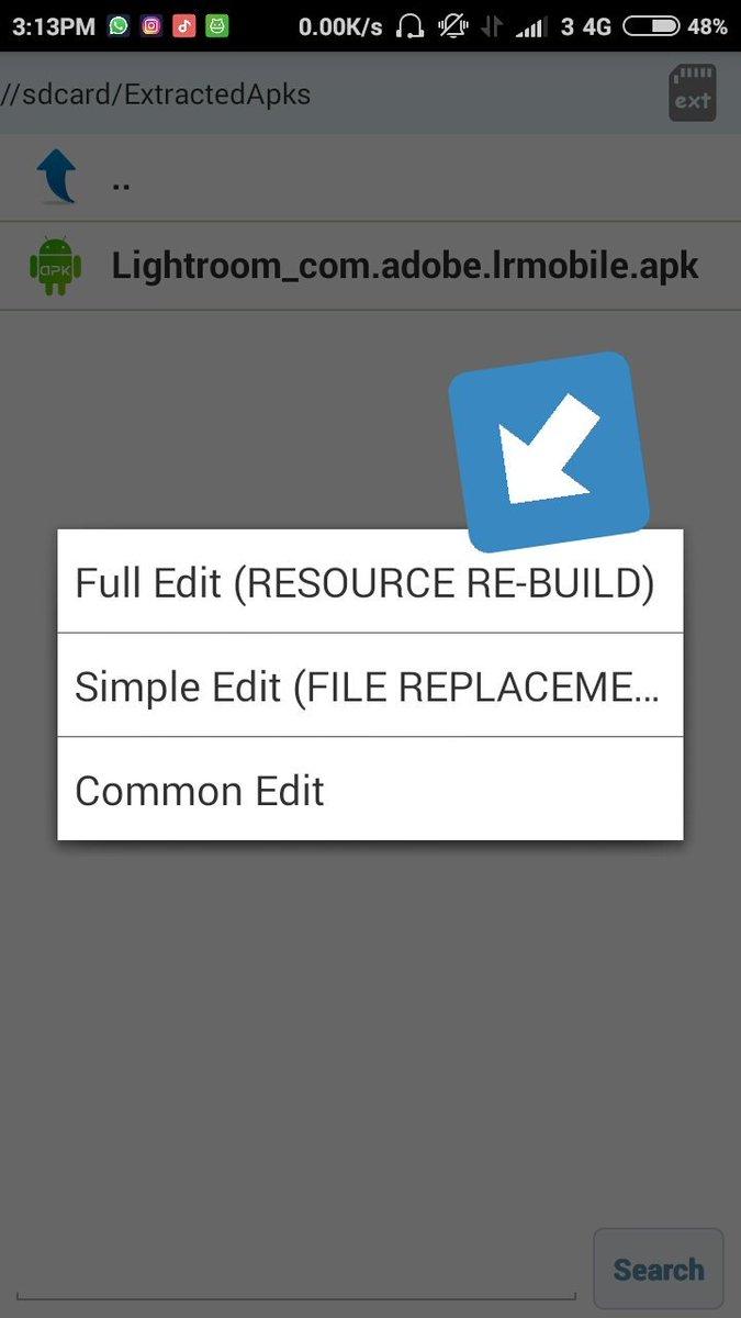 Dony Setiawan On Twitter Nah Kalo Udah Download Presetnya Apk Editor Sama Lightroom Klasiknya 1 Buka Apk Editor 2 Pilih Select An Apk File Lalu Cari Dan Pilih File Lightroom Apk Yg Udah