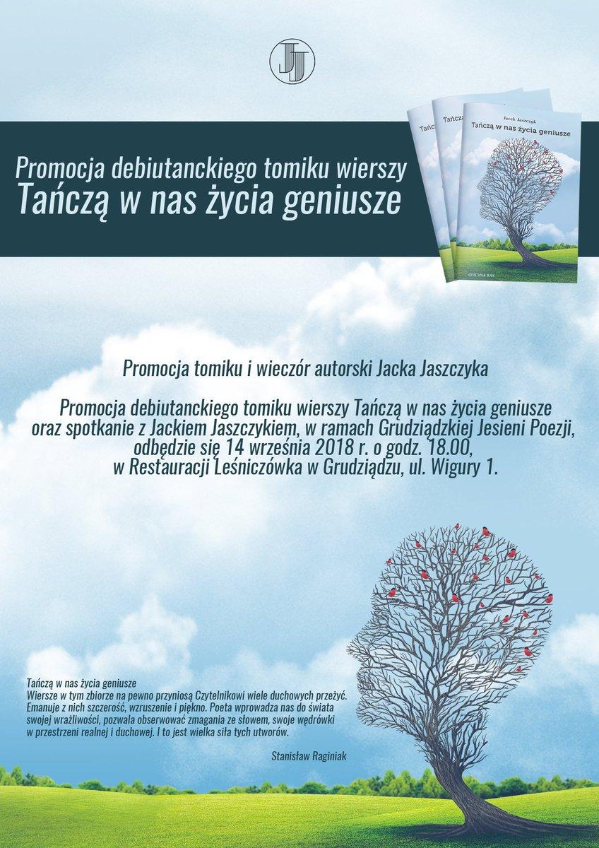 Jacek Jaszczyk على تويتر Promocja Tomiku Wierszy Tańczą W