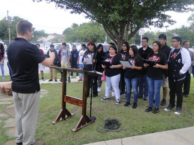 Diamond Hill-Jarvis High School 9/11 Ceremony #AllThingsDHJ #WeAreDiamondHill