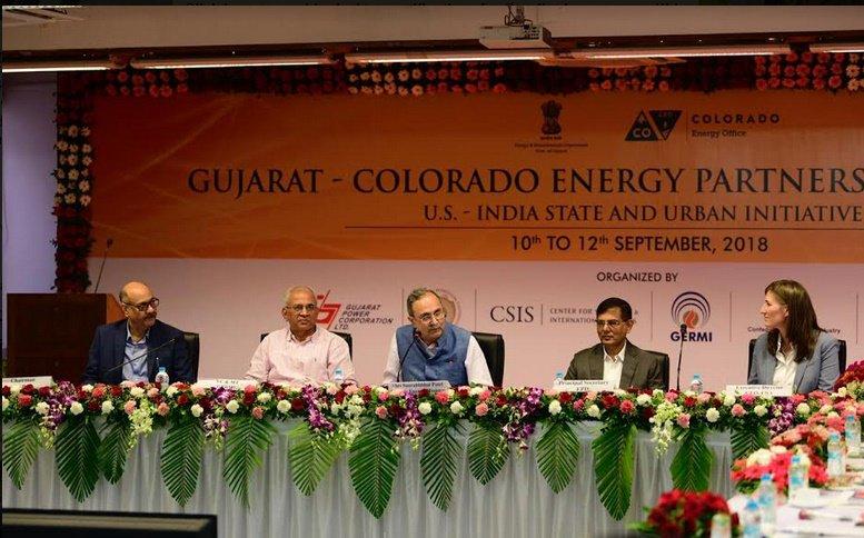 યુએસ-ઇન્ડિયા સ્ટેટ અને અર્બન ઇનિશિયેટિવ હેઠળ અમેરીકાના કોલોરાડો રાજ્યનું ઊર્જા, વિભાગનું પ્રતિનિધિ મંડળ વ્યૂહાત્મક ભાગીદારી માટે ગુજરાતના પ્રવાસે