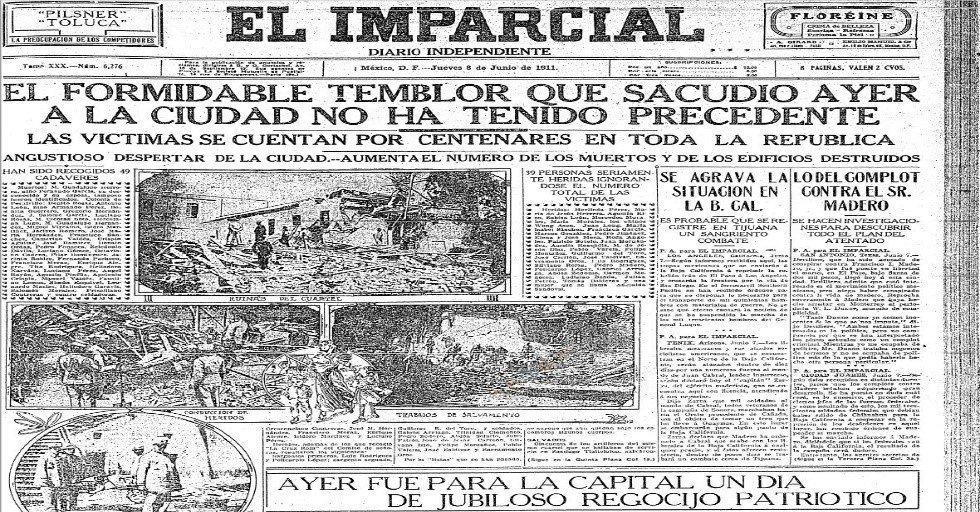"""INEHRM Twitter'da: """"#SabíasQue En septiembre de 1896 se fundó el periódico 'El  Imparcial', que se convirtió en uno de los más influyentes en el cambio de  siglo… https://t.co/u36aTHiVjS"""""""