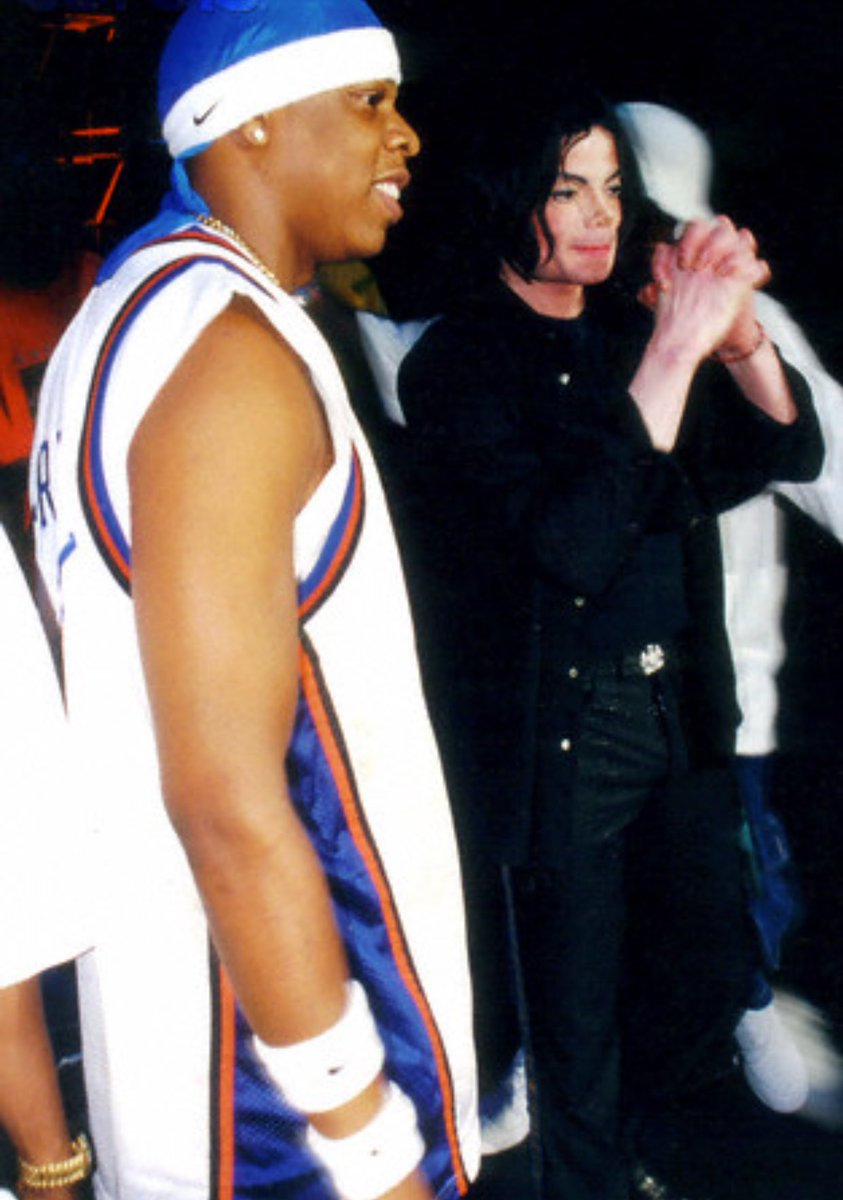 Timeless Sports On Twitter 2001 17 Years Ago Today Jay Z Dropped The Blueprint Throwback To When He Rocked A Latrell Sprewell Jersey And Brought Out Michael Jackson While Performing Izzo H O V A At