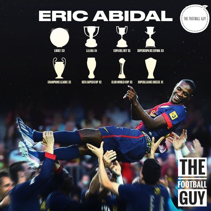 Happy birthday to Eric Abidal, a fighter on and off the pitch