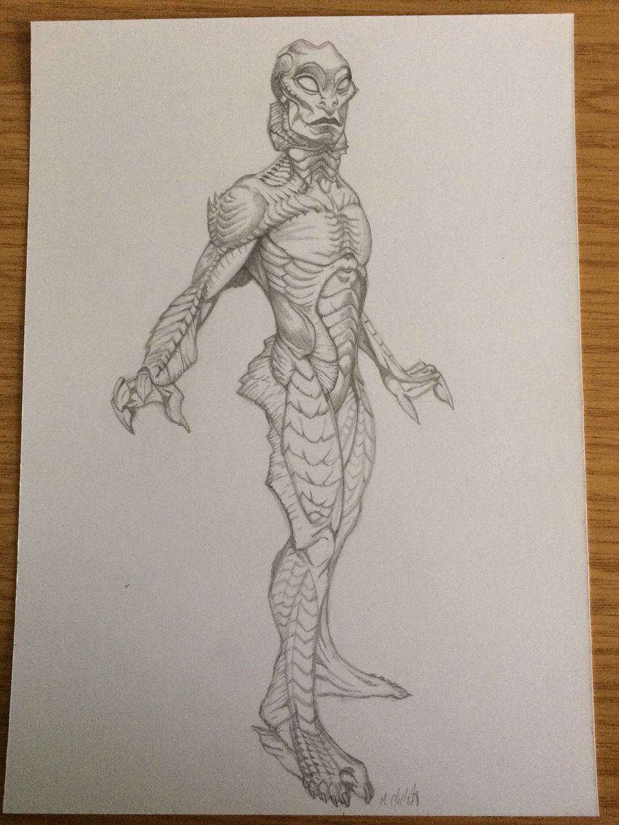 Mark Chilcott On Twitter The Shape Of Water Pencils To