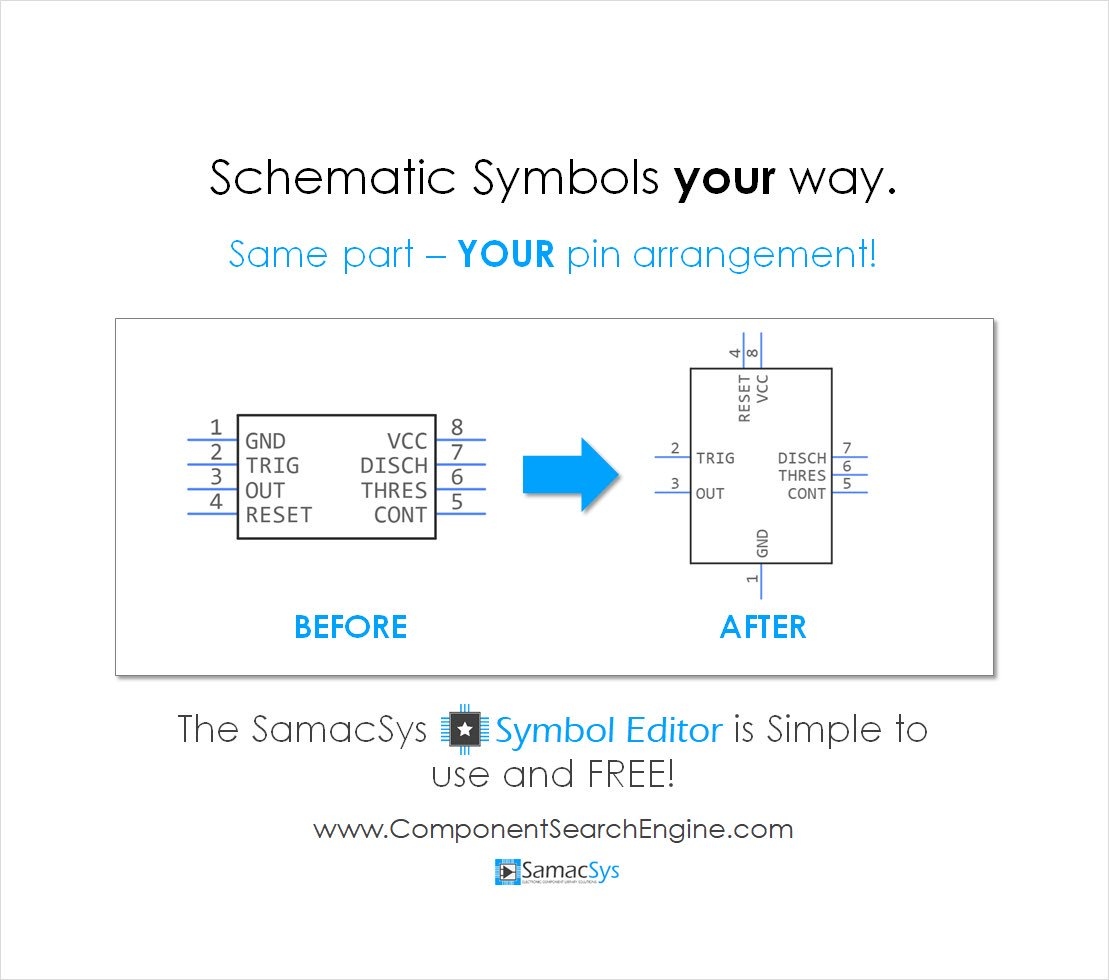 Samacsys Twitter 100 Electrical Electronic Circuit Symbols Download The Free Symbol Editor From Http Componentsearchenginecom Pic Dprlfik8so