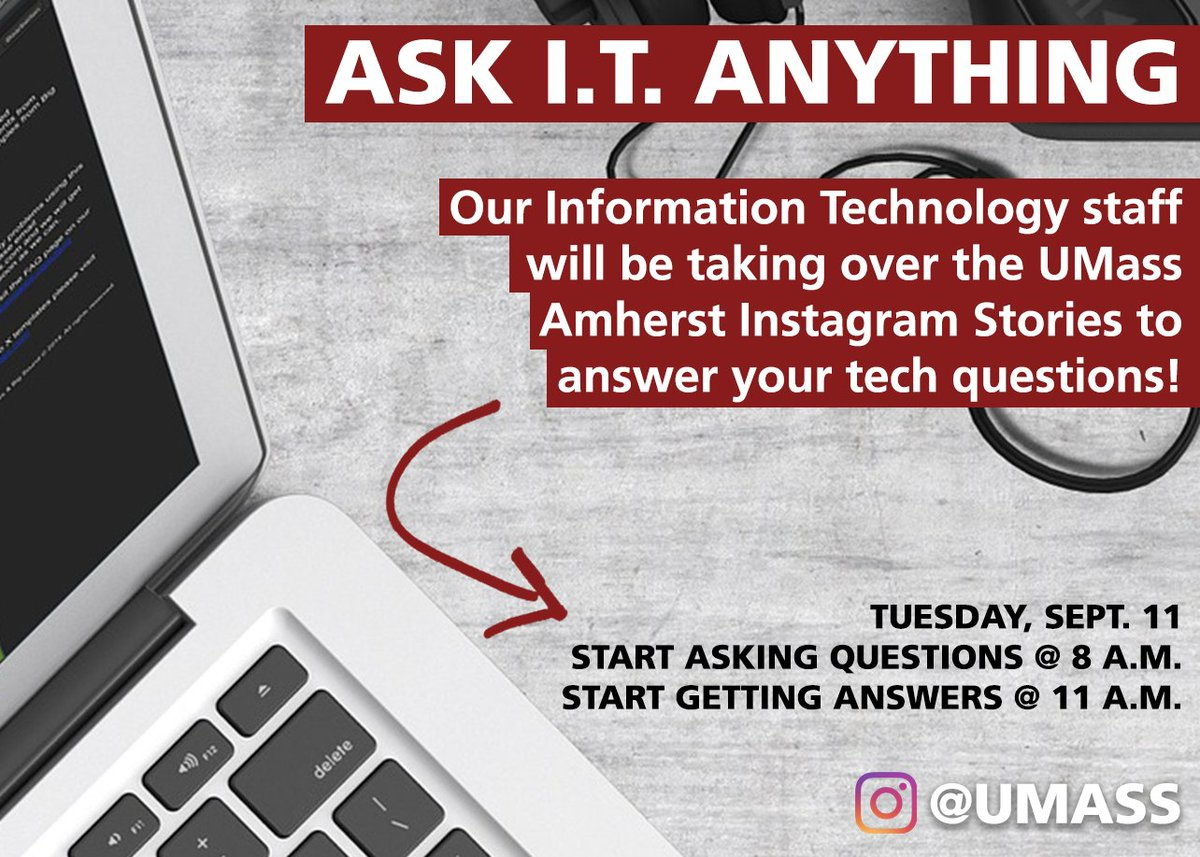 Umass Amherst On Twitter What Better Way To Celebrate Techtuesday