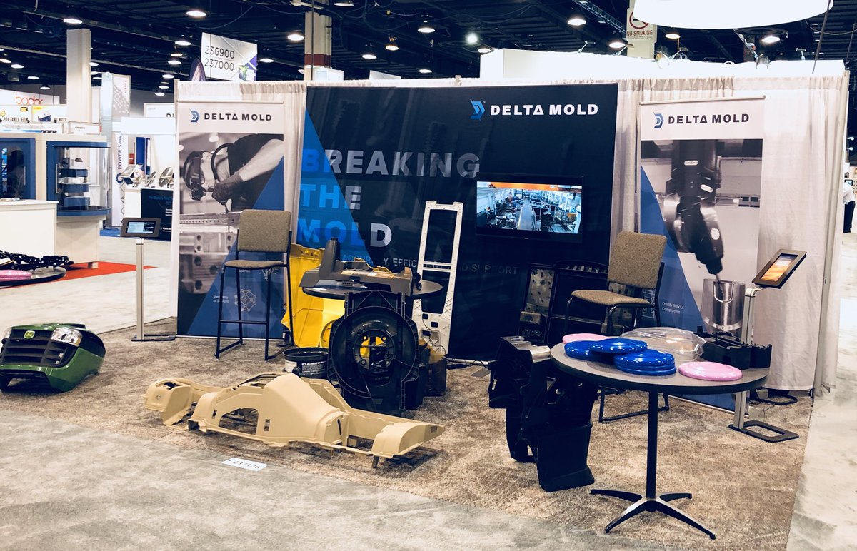 Come check what Delta Mold has to offer at IMTS 2018 booth 237176.