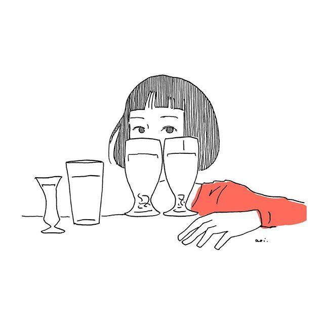Aoi On Twitter 角銅真実 Illust Illustagram シンプルイラスト