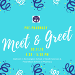 HAPPENING TODAY: Pre-Pharmacy Meet & Greet. Come out and meet the Pharmacy faculty and other students in your major. Congdon School of Health Sciences/Wilson School of Pharmacy Ballroom, 3:30 - 4:30pm #HPU365 #MyMajoratHPU
