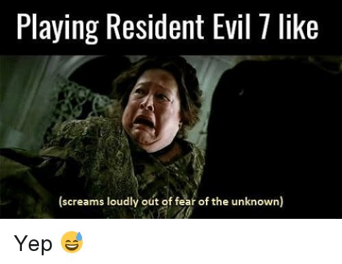 Theadventuringshack On Twitter Looking Forward To Another Evening Of Pain Panic Screaming Like The Goat In The Taylor Swift Parody Video Residentevil7 Https T Co 43rqp1e3jh