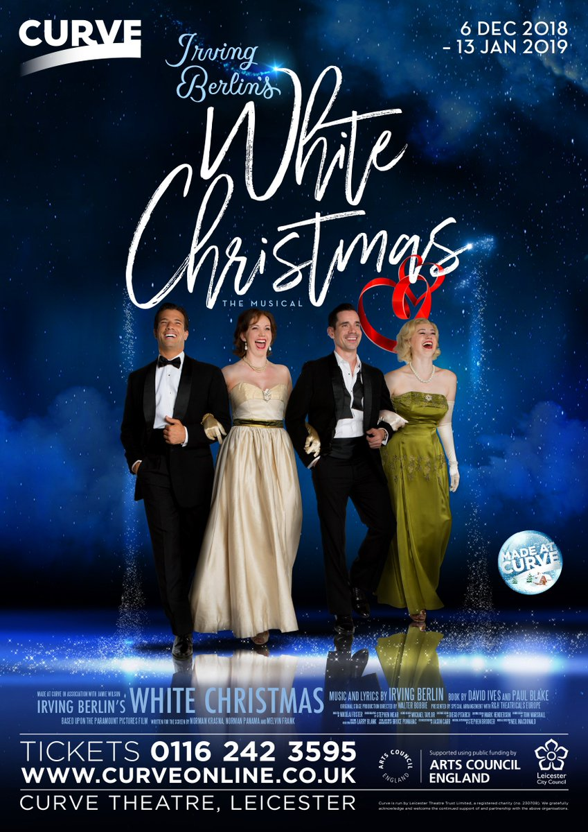 White Christmas Musical.Curve On Twitter Cast Announcement We Re Excited To